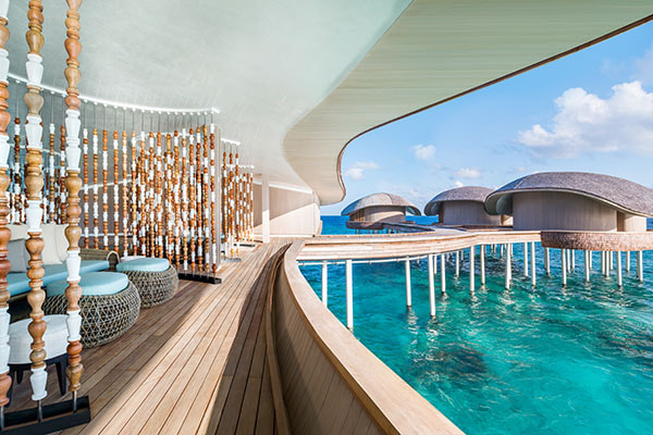 Luxushotel St. Regis Maledives Vommuli Resort