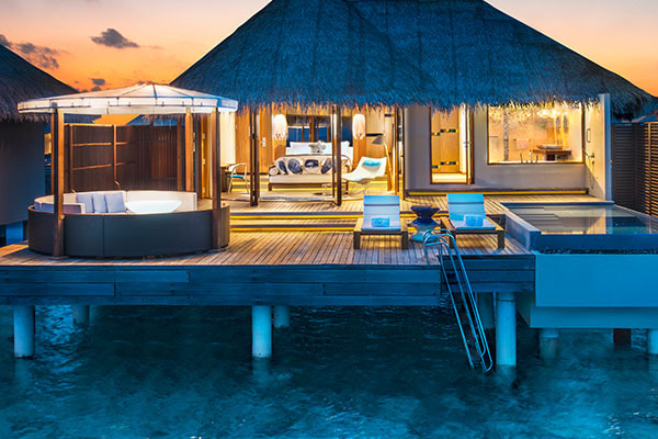 Luxushotel W-Maledives